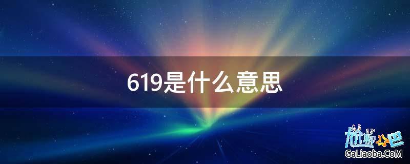 619是什么意思